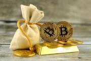 پیش بینی پیشروی بیت کوین در برابر طلا