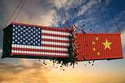 خرید کالاهای آمریکایی توسط چین باز هم کاهش یافت