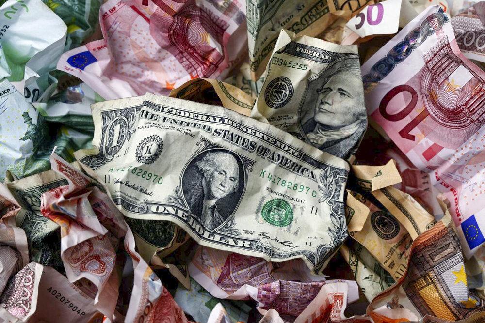 نرخ یورو و ۲۵ ارز دیگر افزایشی شد