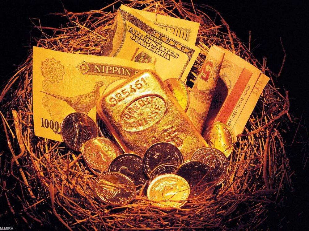 کاهش قیمت طلا و ارز؛ دلار ارزان شد