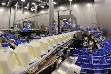 صادرات یک میلیون تُن شیر خام در سال ۹۹