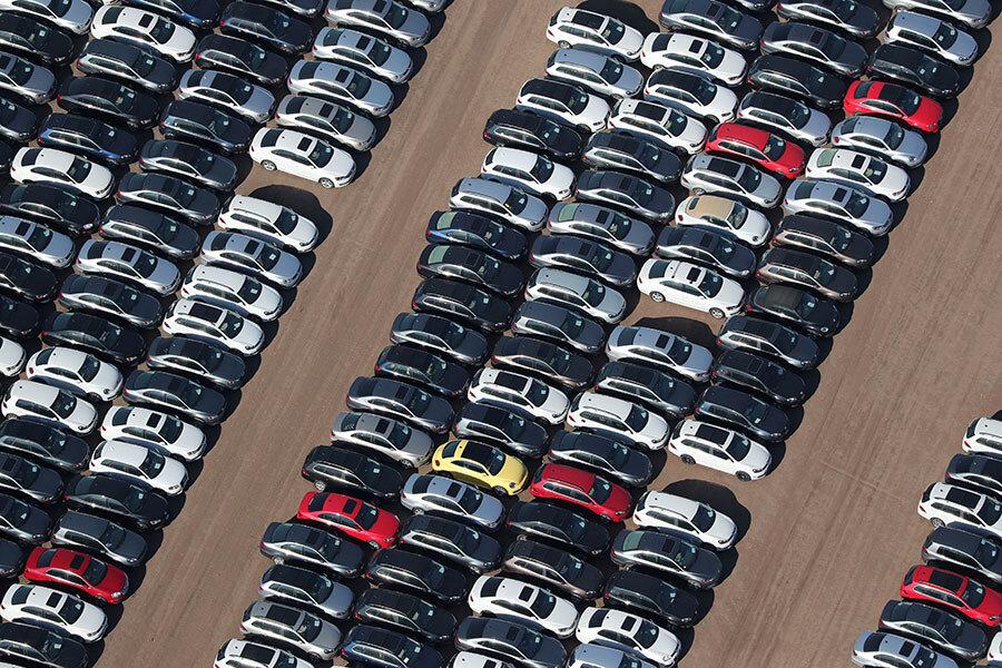 افت ۳ درصدی فروش صنعت خودروی چین