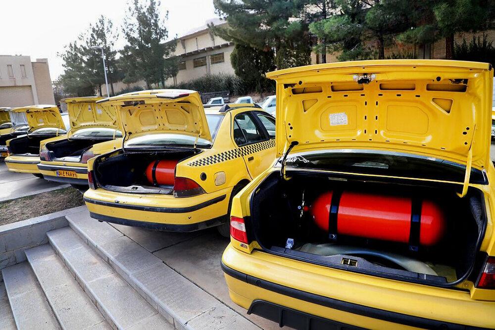 گاز سوز کردن رایگان ۱۰۰ هزار خودرو عمومی در کشور