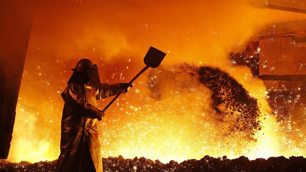 نامه نگاری انجمن فولاد با صمت برای تولید در شرایط کمبود برق