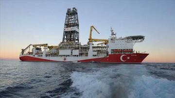 ادامه حفاری گازی ترکیه در شرق مدیترانه و دریای سیاه