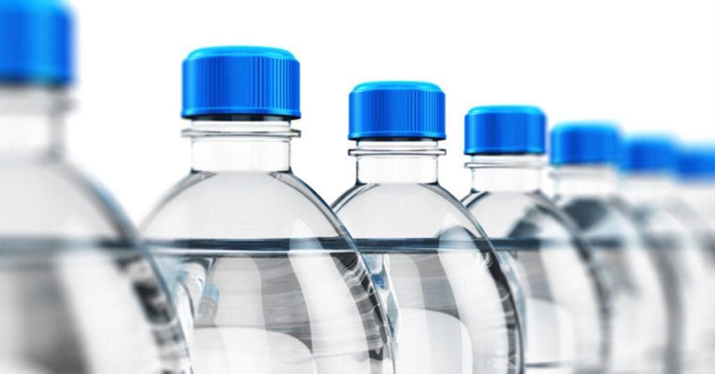 فقط ۳ درصد آب های بسته بندی صادر می شود
