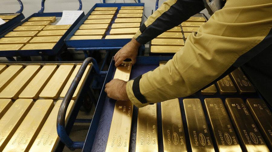 قیمت طلا در بازارهای جهانی ریزش کرد