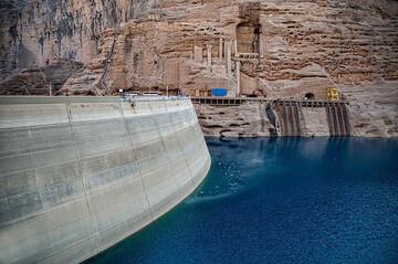 ذخایر سدها به ۳۵۰ میلیون متر مکعب رسید