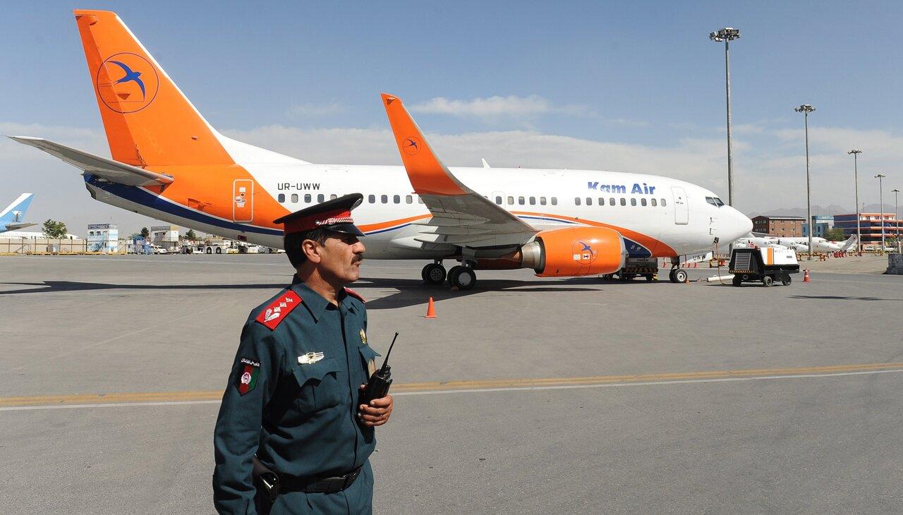هواپیماهای بخش خصوصی افغانستان به ایران پناه آوردند