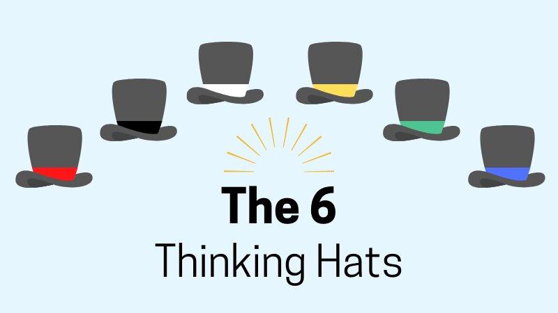 شش کلاه تفکر؛ تکنیکی برای تفکر خلاق