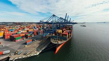 رقم تجارت خارجی ایران به ۴۵ میلیارد دلار رسید