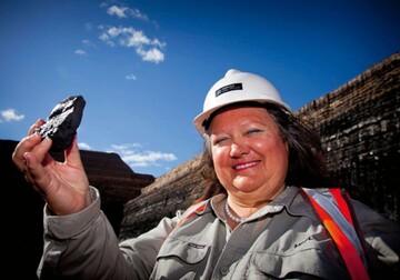 جینا راینهارت، بانوی میلیاردر معدن دار