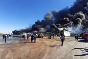 آتشسوزی واحد تولیدی طبیعت زرندیه ۲ مجروح بر جا گذاشت